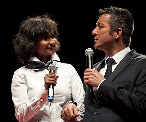Karl Olive et Safia Otokoré ( Conseil regional de Bourgogne )